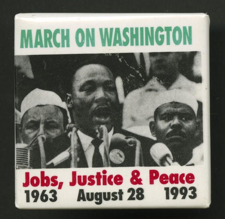 """""""Trabalho, justiça e paz"""", já defendia Martin Luther King em 1963. (Divulgação)"""